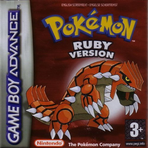 Pokemon Rubi GBA